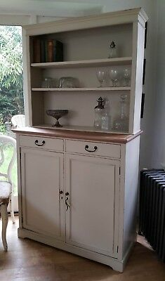 Beautiful Antique Painted Vintage Maple & Co Dresser Fired Earth