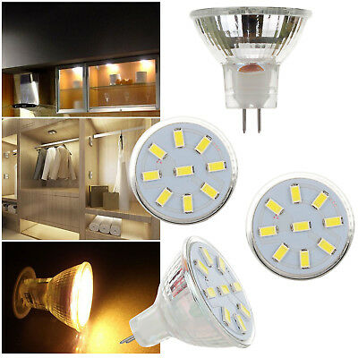 LED Bulb Spotlight 2W 3W 4W MR11 12-24V 5733 2835 SMD 10W 20W Equivalent Lamp HL