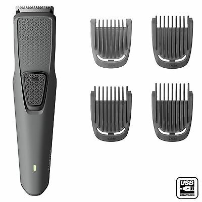 Philips Men's Beard & Stubble Trimmer Series 1000 with USB Charger - BT1216/15
