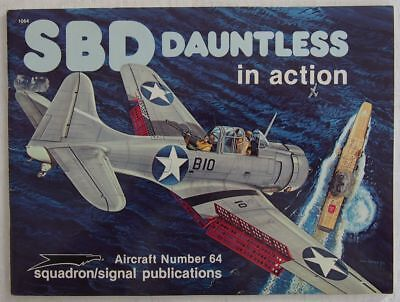 SBD Dauntless In Action - Squadron/Signal