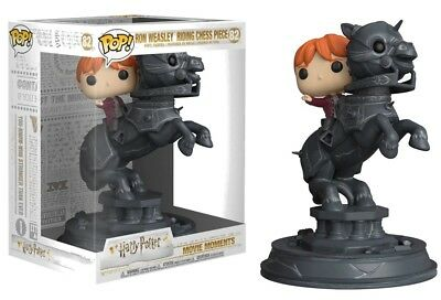 Harry Potter - Pop! - Movie Moments : Ron riding chess piece - Funko
