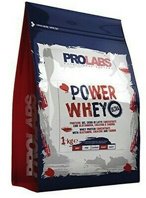 Power Whey Ultra Prolabs 2 kg Proteine del Siero di Latte Concentrate Nutri 2000