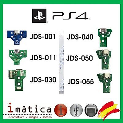 Conector De Carga Para Mando Play Station 4 Placa Corriente Micro Usb Ps4 + Flex
