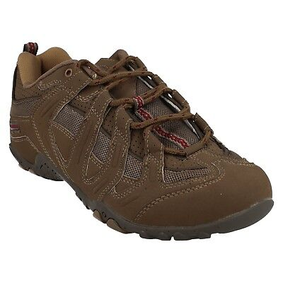 Hi Tec Alto Womens Casual Trainers Walking Lace Up  Ladies Shoes Brown