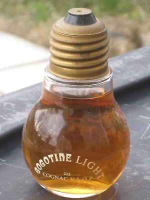 mignonnette OLD MINIATURE COGNAC mini bottle gogotine  5 cl