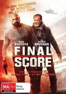 FINAL SCORE-DVD-Region 4-New AND Sealed