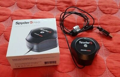 Datacolor Spyder5Pro Monitor Calibrator with box