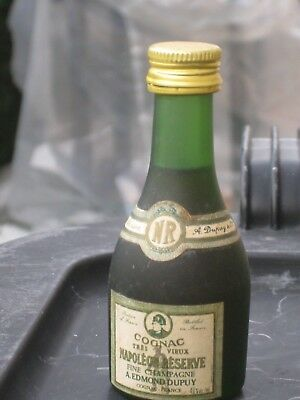 mignonnette OLD MINIATURE COGNAC mini bottle dupuy  3cl