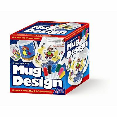 Create Your Own Mug Personalise Art Design Crafts Kids Childs Novelty Gift