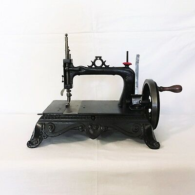Macchina per cucire antique sewing machine Brunonia fine '800