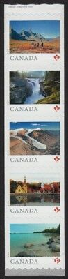 END Strip of 5 with ERROR Pos.2 = FROM FAR AND WIDE = Canada 2019 MNH-VF [ec184]