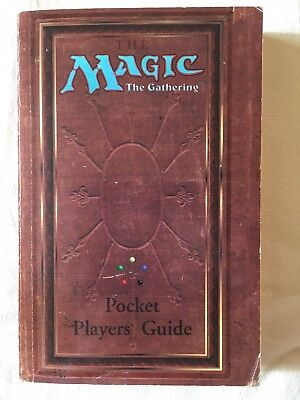 MTG Magic The Gathering Pocket Players Guide 1994 Premiere Edition RARE
