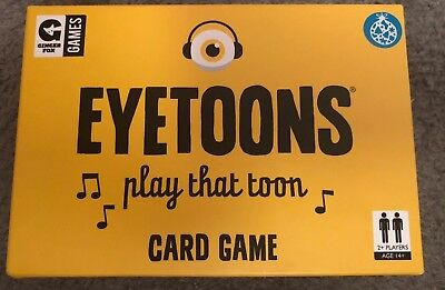 Game Eyetoons Gingerfox Card Complete Boxed