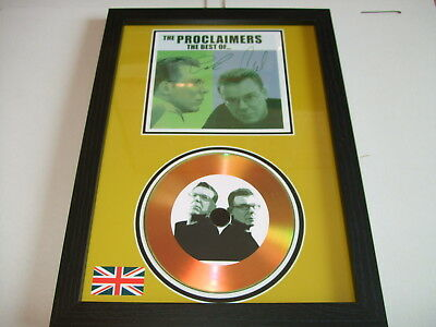 The Proclaimers  Signed  Gold Cd  Disc