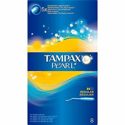 Tampax Pearl Standard Tampons Applicateur Femmes Fuite Garde & Form Fit Pack de