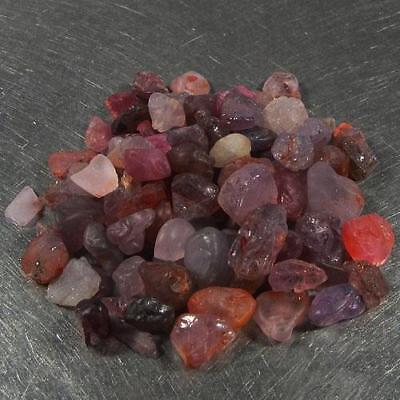 Lot 35.70 Ct - Wonderful Unheated Natural Rough Mix Color Ruby Madagascar