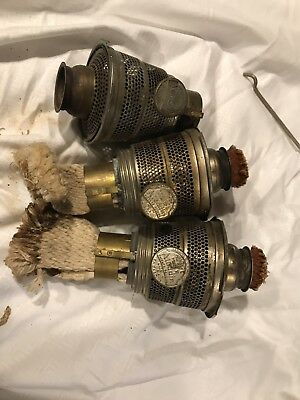 Lot of Four Model B Aladdin Lamp Burners