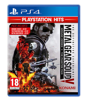 Metal Gear Solid V : The definitive Experience - PS4 IMPORT neuf sous blister