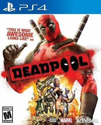 Deadpool - PS4 IMPORT neuf sous blister