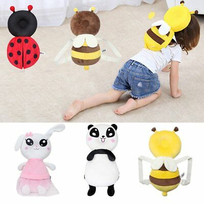 Baby Head Protection Pad Toddler Headrest Pillow Drop Resistance Cushion QK