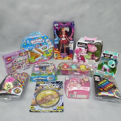 Job Lot Childrens Toys Girls Theme Beados Hatchimals Puzzles My Little Pony Lego