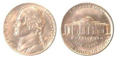 1982 P & D JEFFERSON NICKEL Very Nice UNCirculated  Coins