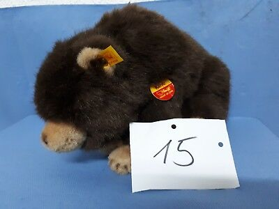 Alter Teddy Bär - Steiff Karro Made in Germany 069451  Größe ca 32 cm  (15)