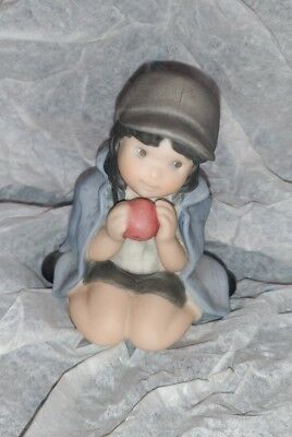 Kim Anderson PAAP Figurine w/Orange, Thank You For Being You 703362 Girl