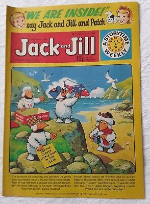 Vintage Jack and Jill Comic: 30th August 1980
