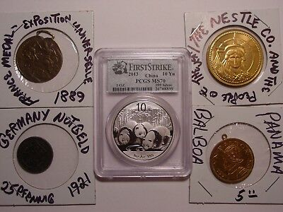 COLLECTABLE COINS JIM RODGERS reserve COLLECTION