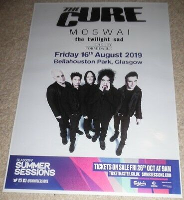 The Cure - rare live band music show memorabilia concert gig tour poster
