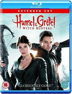 Hansel & Gretel Witch Hunters Blu Ray Extended Cut Fantasy Horror Gemma Arterton