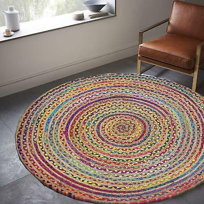 Round Braided Rug 7 Ft 139 99 Picclick