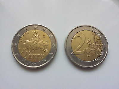 2 Euro coin from Greece - USED
