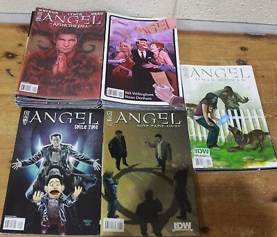 ANGEL: AFTER THE FALL / NOT FADE AWAY / SMILE TWICE / ONLY HUMAN IDW Buffy-250