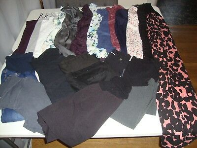 Huge Lot Of Women's Size Small Medium Maternity Clothes Great For Spring