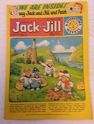 Vintage Jack and Jill Comic: 13th September 1980