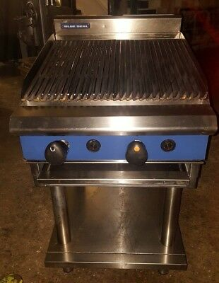 Original Blue Seal G594-LS Heavy Duty Natural Gas Chargrill 2 Burner 60 cm