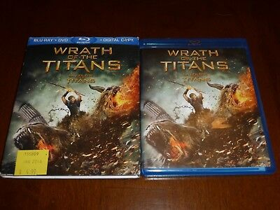 Clash of the Titans 2010 and Wrath of the Titans 2012 Blu-ray (2 movies)