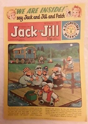Vintage Jack and Jill Comic: 6th September 1980