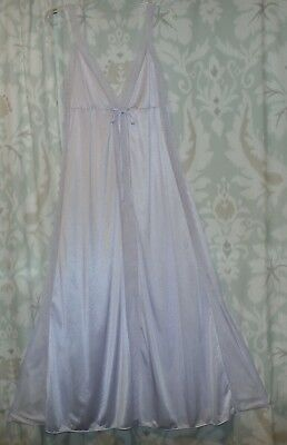Vintage  U.s.a. Lacy Nylon Nightgown--Size-Large