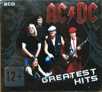 "Ac/dc ""greatest Hits"" Rare 2 Cd Neuf Sous Cellophane !"