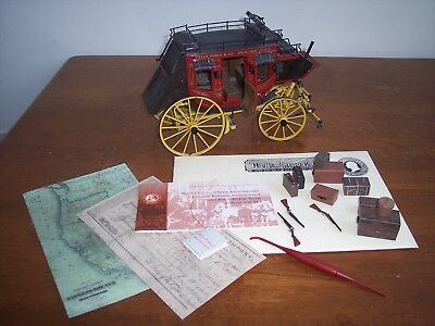 Wells Fargo stagecoach Franklin mint, collectible item