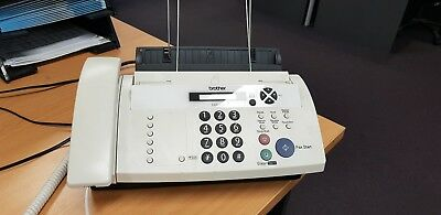 Brother FAX-878 Plain Paper Thermal Fax Copier Phone USED