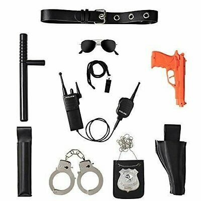 Ultimate All-In-One Police Accessory Role Play Set For Kids