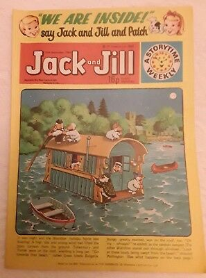 Vintage Jack and Jill Comic: 20th September 1980