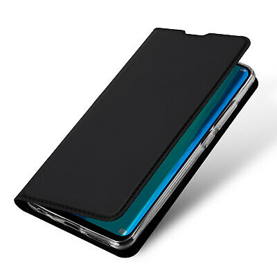DUX DUCIS PU Leather Wallet Smart Magnetic Flip Case for Huawei Y9 2019 - Black