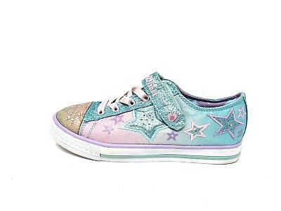 Official Japanese Anime Aikatsu Youth Girls /<Light-Up/> PVC Sneaker Shoes ID5203