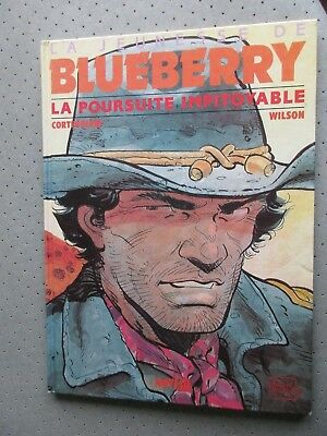 "Blueberry ""la Poursuite Impitoyable"" 1992 Colin Wilson Belle Dedicace.t.b.e. E.o"