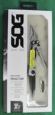 SOG Reactor Multi Tool Stainless Pliers Assisted Opening Blade  - New FREE S&H